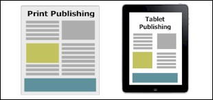 Print or Tablet Publishing