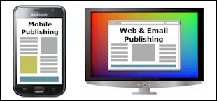 Mobile or Internet Publishing